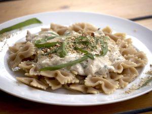 Bärlauch-Creme Pasta