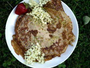 Holunder-Pfannkuchen