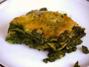 Palak Chana – Spinat Kichererbsen Lasagne indisch inspiriert