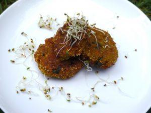 Quinoa-Hirse-Gemüse-Bällchen