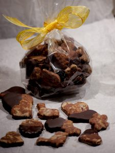 Zuckerfreie marmorierte Schokoladen-Kekse