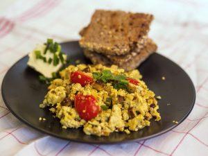 Rührtofu – Vegane Alternative zu Rührei